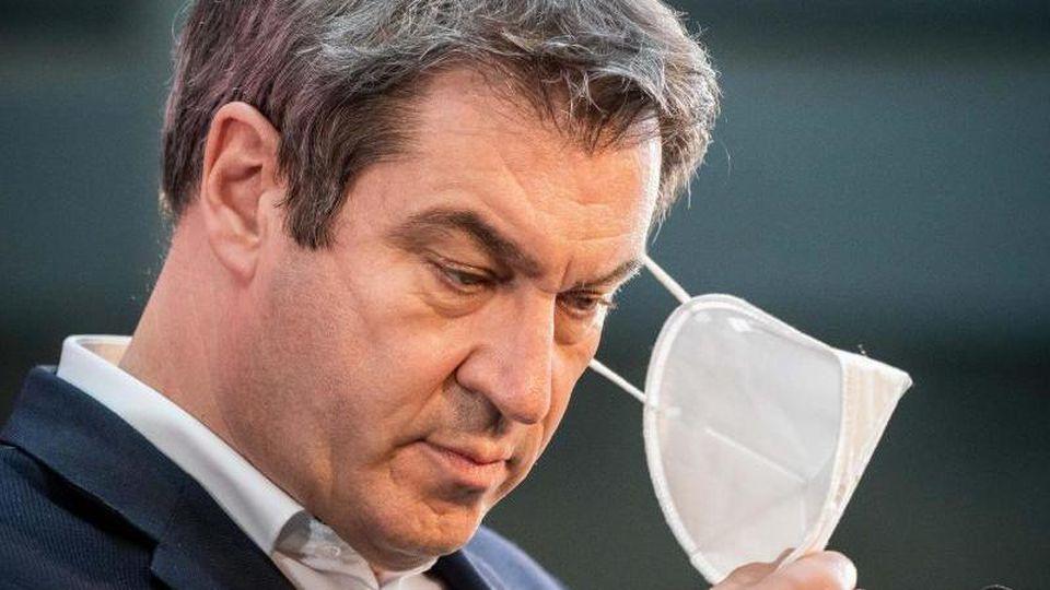 Bayerns Ministerpräsident und CSU-Vorsitzender Markus Söder in Berlin. Foto: Michael Kappeler/dpa/archivbild