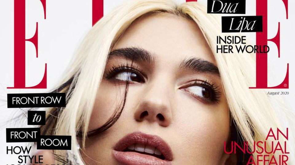 Dua Lipa August ELLE UK 2020