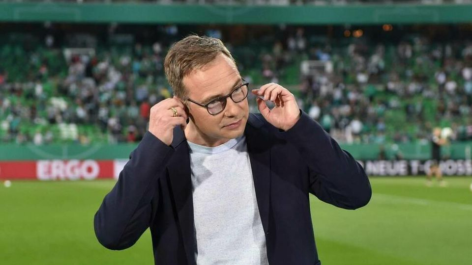 """ARD-""""Sportschau""""-Moderator Matthias Opdenhövel hat sich nach einer Panne entschuldigt"""