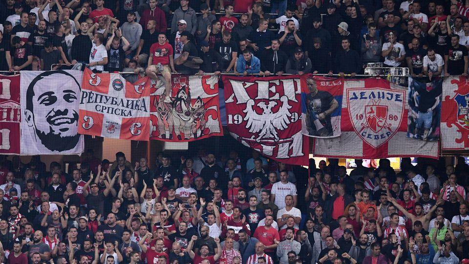 Fans Roter Stern Belgrad
