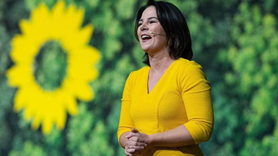 Die Parteichefin der Grünen, Annalena Baerbock. Wird sie die nächste Bundeskanzlerin?