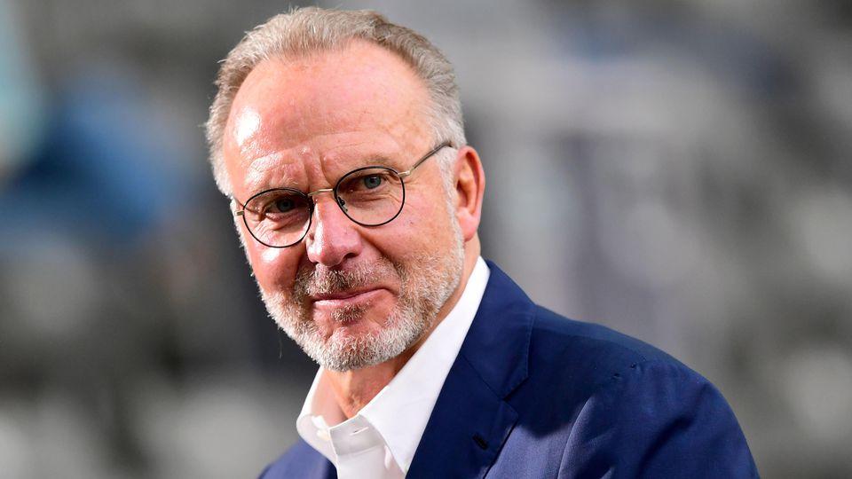 Reiner Calmund hofft, dass Karl-Heinz Rummenigge der nächste DFB-Präsident wird.