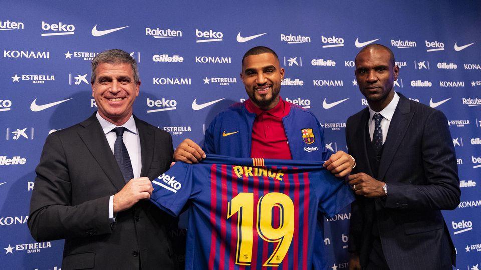 Kevin Prince Boateng wechselte im Januar 2019 zum FC Barcelona