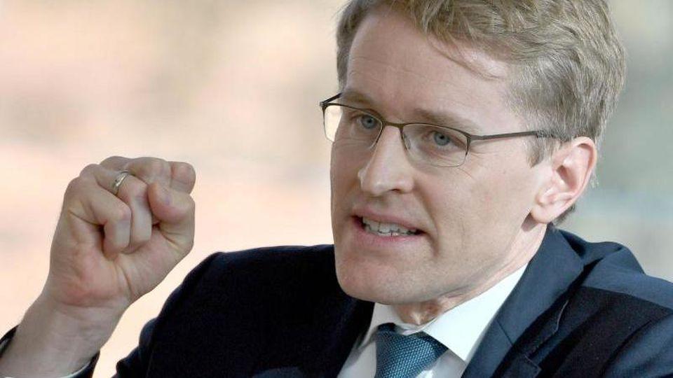 Daniel Günther, der Ministerpräsident von Schleswig-Holstein. Foto: Carsten Rehder/dpa/Archivbild