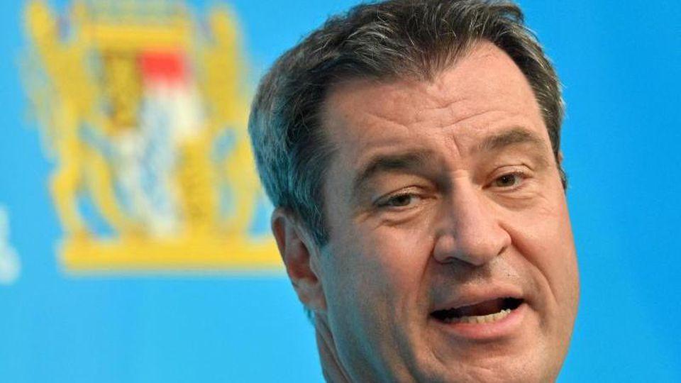 Markus Söder (CSU), Ministerpräsident von Bayern. Foto: Peter Kneffel/dpa/Archiv
