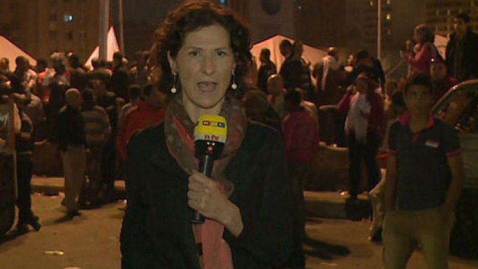 RTL Reporter Antonia Rados Kairo