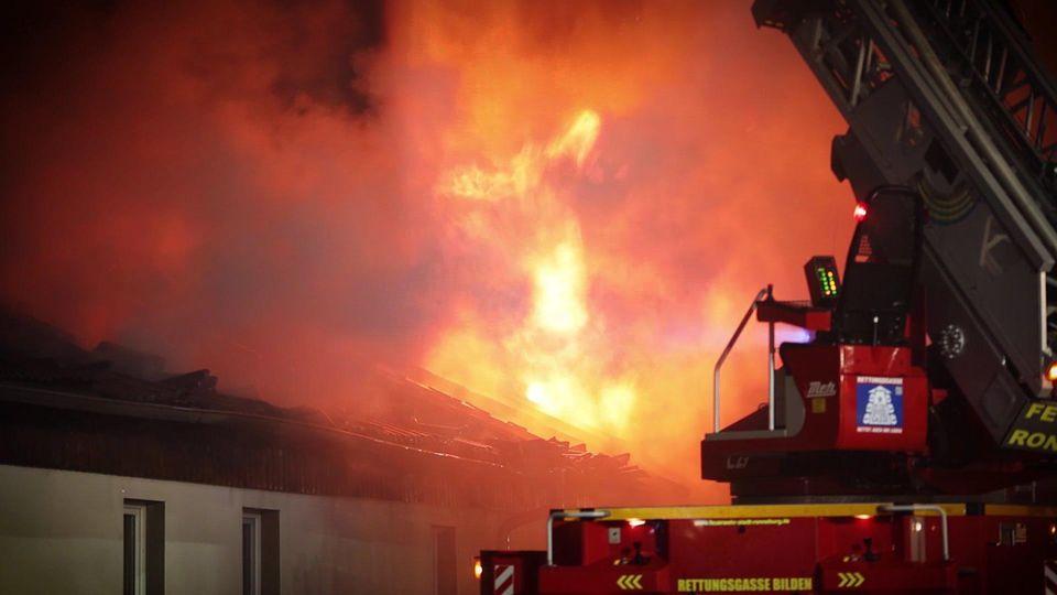 Feuer in Großenstein