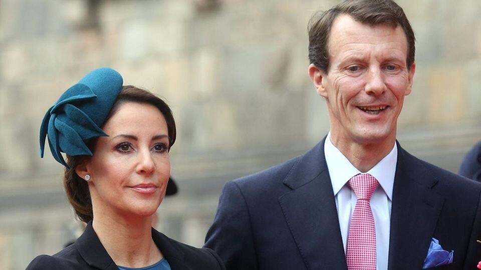 Prinzessin Marie und ihr Mann, Prinz Joachim von Dänemark.
