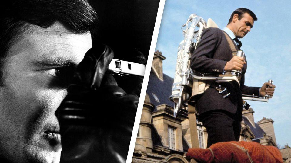 James Bond Gadgets im Blick