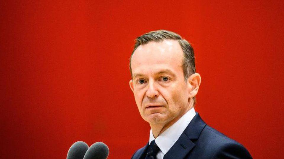 Volker Wissing (FDP) spricht im Landtag. Foto: Andreas Arnold/dpa/Archivbild