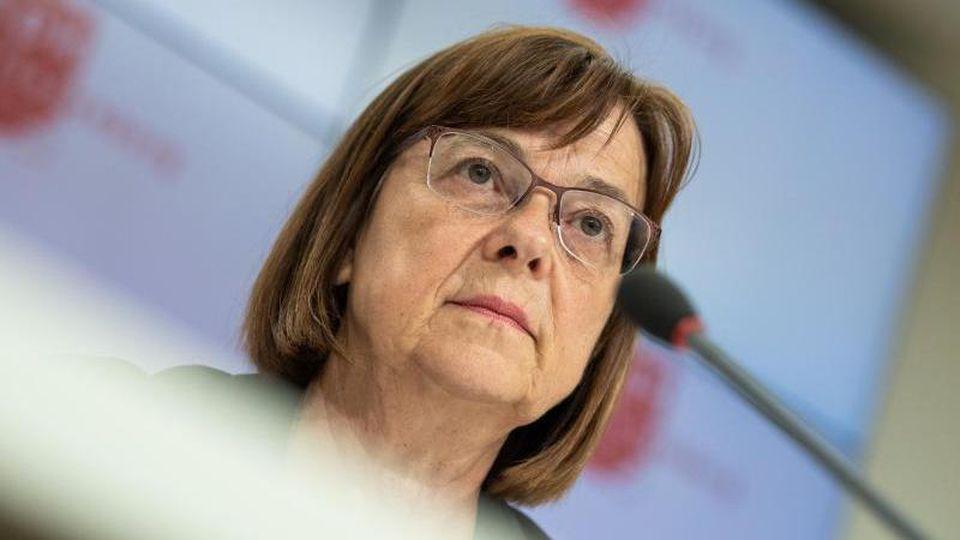 Ursula Nonnemacher, Fraktionsvorsitzende von Bündnis 90/Die Grünen in Brandenburg. Foto: