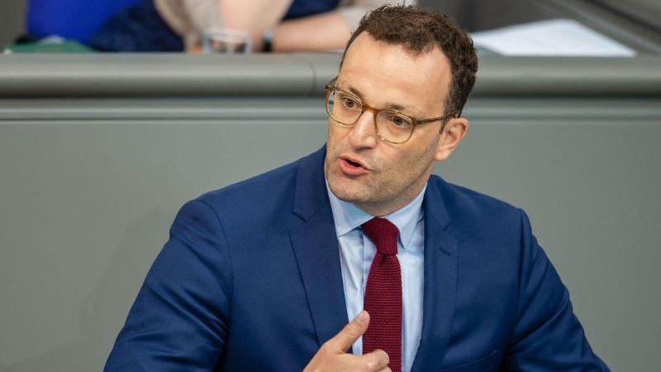 Gesundheitsminister Jens Spahn. Foto: Lisa Ducret/Archiv