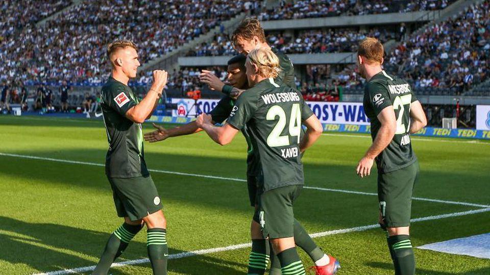 Wolfsburg gewinnt bei Hertha BSC mit 3:0. Foto: Andreas Gora
