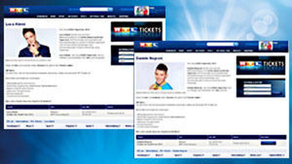 RTL Tickets für angebliche Sieger-Tour