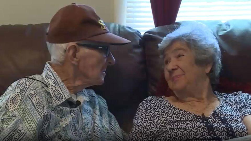 Herber und Frances Delaigle waren 71 Jahre verheiratet und starben am selben Tag eines natürlichen Todes.