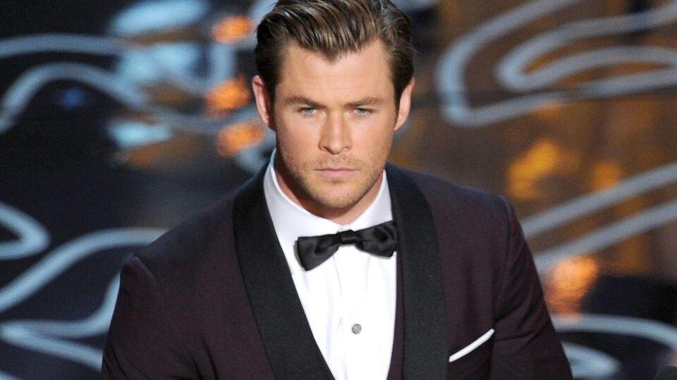 Der Anzug passt schon mal: Chris Hemsworth bei den Oscars 2014 in Hollywood, Kalifornien.