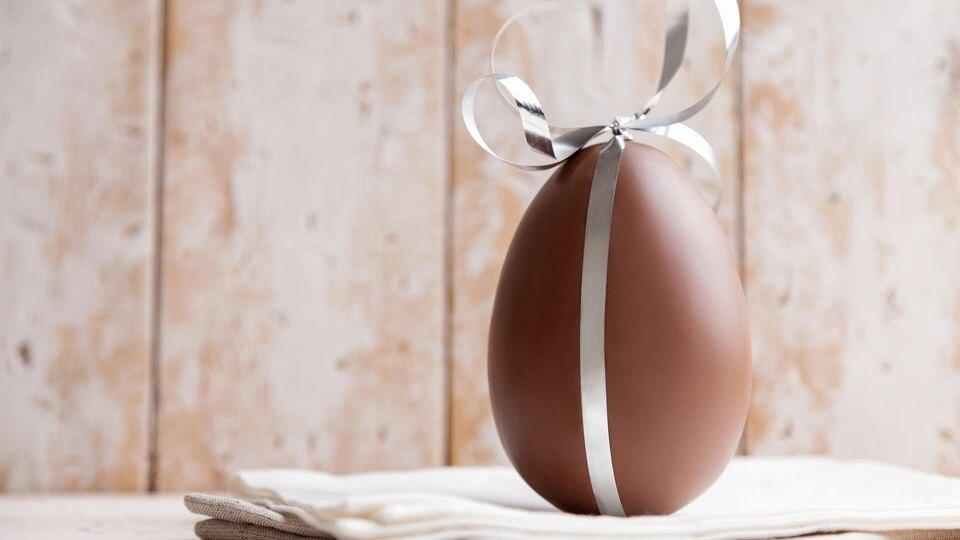 Ein Schoko-Ei tut's zur Not auch als Ostergeschenk