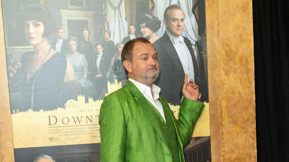 "Hugh Bonneville auf der Premiere des ersten ""Downton Abbey""-Films in New York."