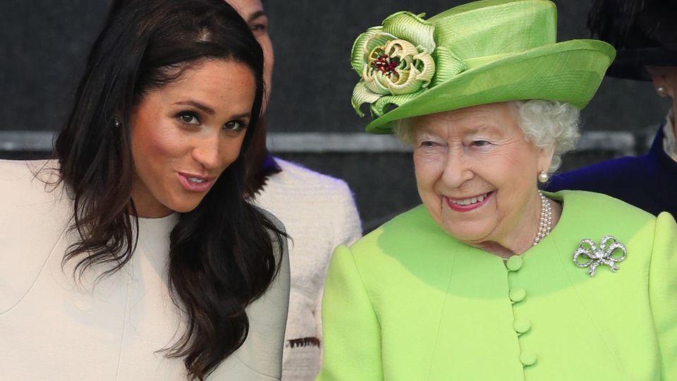 Herzogin Meghan und Queen Elizabeth bei einem Auftritt im Juni 2018