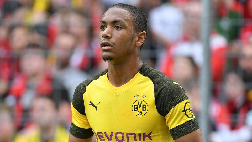 21 04 2019 xmhx Fussball 1 Bundesliga SC Freiburg Borussia Dortmund emspor v l Abdou Diallo