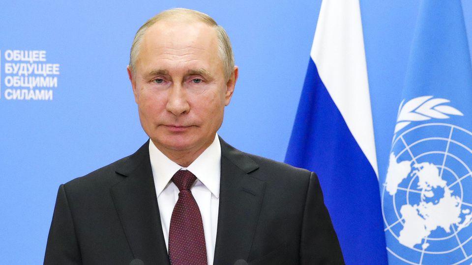 UN-Generaldebatte - Putin