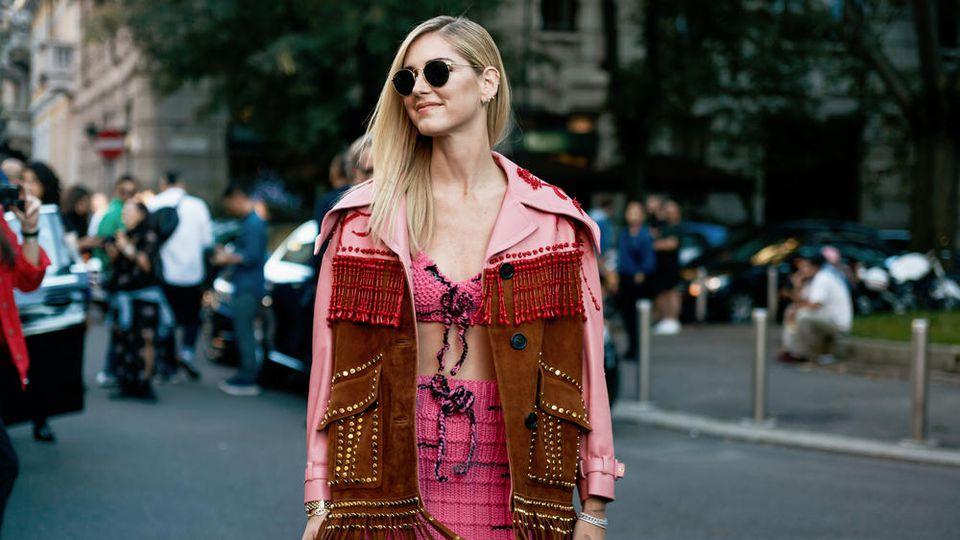 Auch Chiara Ferragni trägt das Must-have für diesen Sommer.