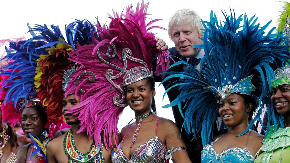 Boris Johnson macht Werbung für Notting Hill Carnival