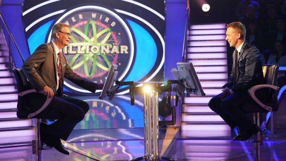 """Günther Jauch moderiert """"Wer wird Millionär?"""" bei RTL."""