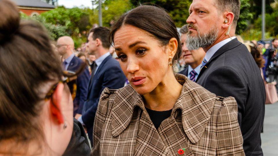 Herzogin Meghan bei einem Auftritt 2018, aus diesem Jahr stammen die Mobbing-Vorwürfe.