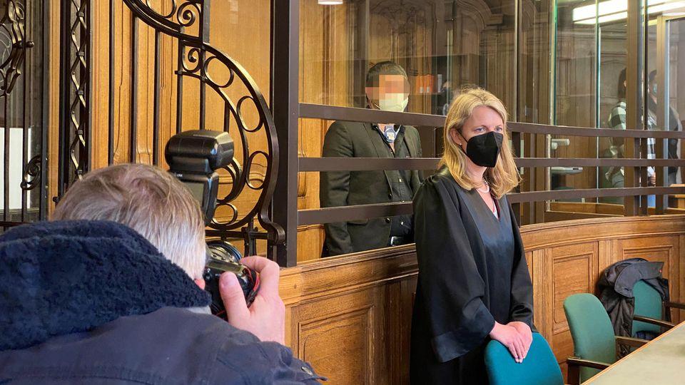 Beschuldigter Sarmad A. beim Prozessauftakt in Berlin