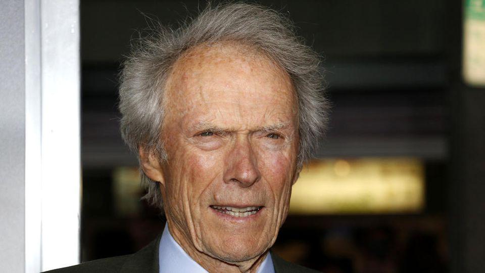 Auch mit nun 90 Jahren eine eindrucksvolle Gestalt: Clint Eastwood.