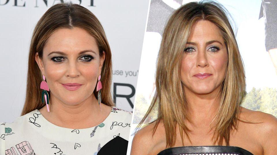 Drew Barrymore (li.) und Jennifer Aniston sind bekennende Single-Frauen.