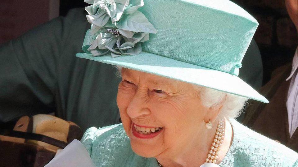 """Am Mittwoch gratulierte die Queen zum 150. Geburtstag der britischen Supermarktkette """"Sainsbury's"""""""