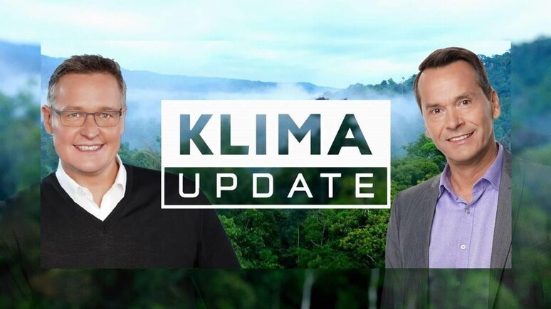 Das Klima Update bei RTL: Bernd Fuchs (l.), Christian Häckl