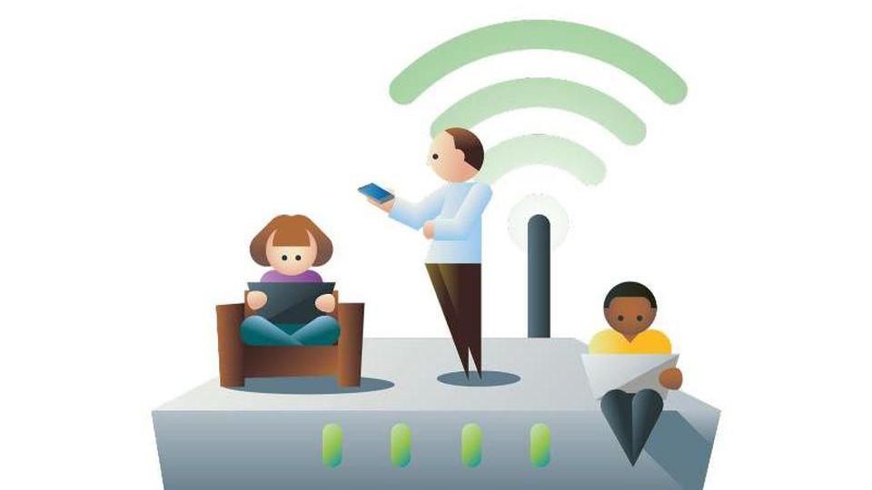 Ein Router, viele Möglichkeiten: Warum sollte das Gerät nur einem Haushalt dienlich sein?. Foto: dpa-infografik GmbH/dpa