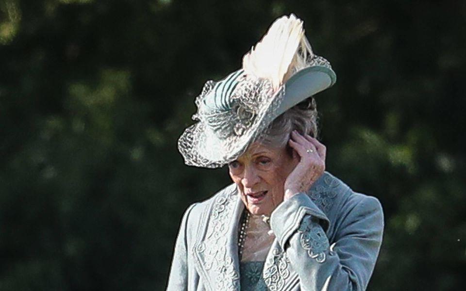 Maggie Smith ist heimlicher Star der Serie 'Downton Abbey'