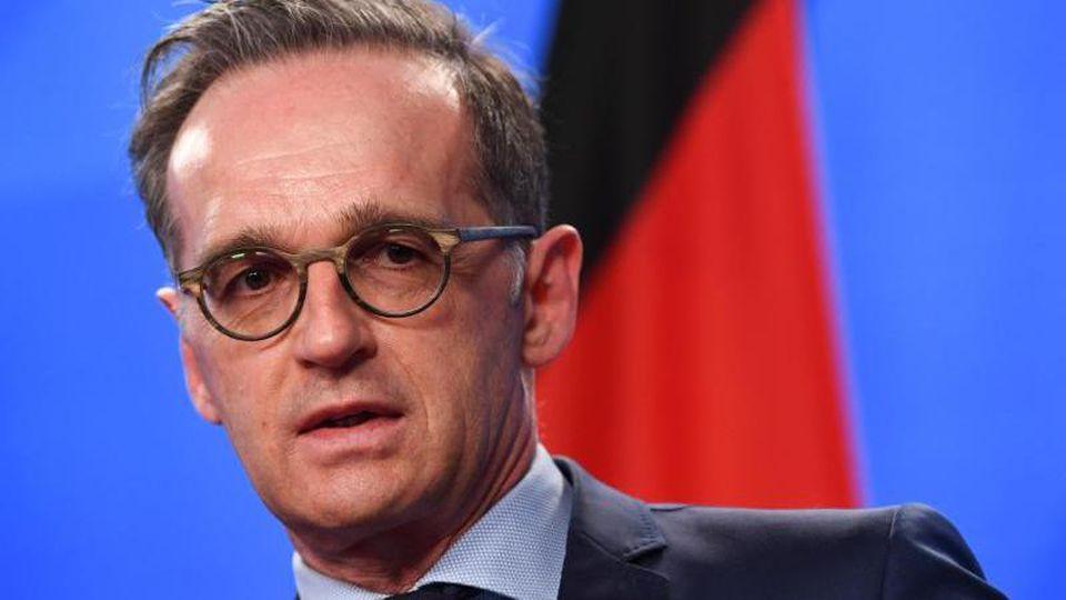 Heiko Maas, Bundesminister des Auswärtigen. Foto: Annegret Hilse/Reuters Pool/dpa/Archiv