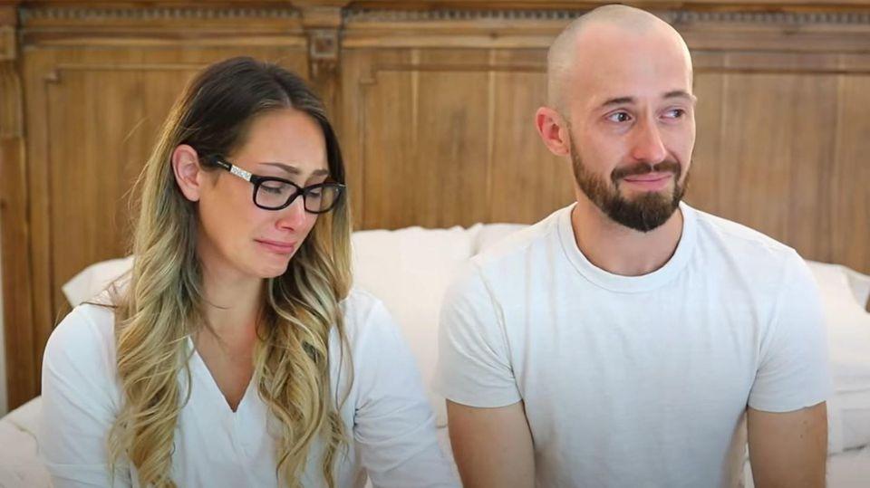Myka und James Stauffer haben ihren Adoptivsohn abgegeben