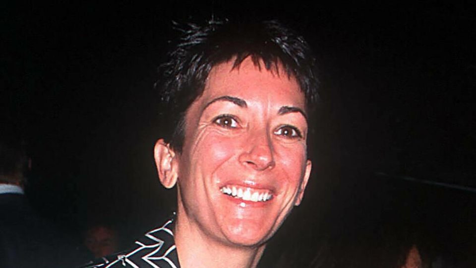 Ghislaine Maxwell im Jahr 2000