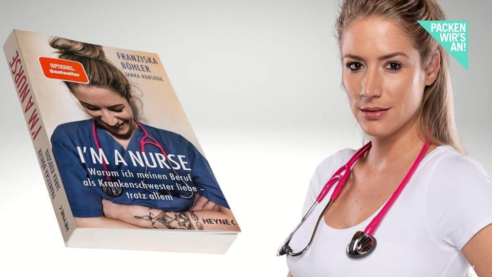 Franziska Böhler ist Krankenschwester - und Buchautorin.