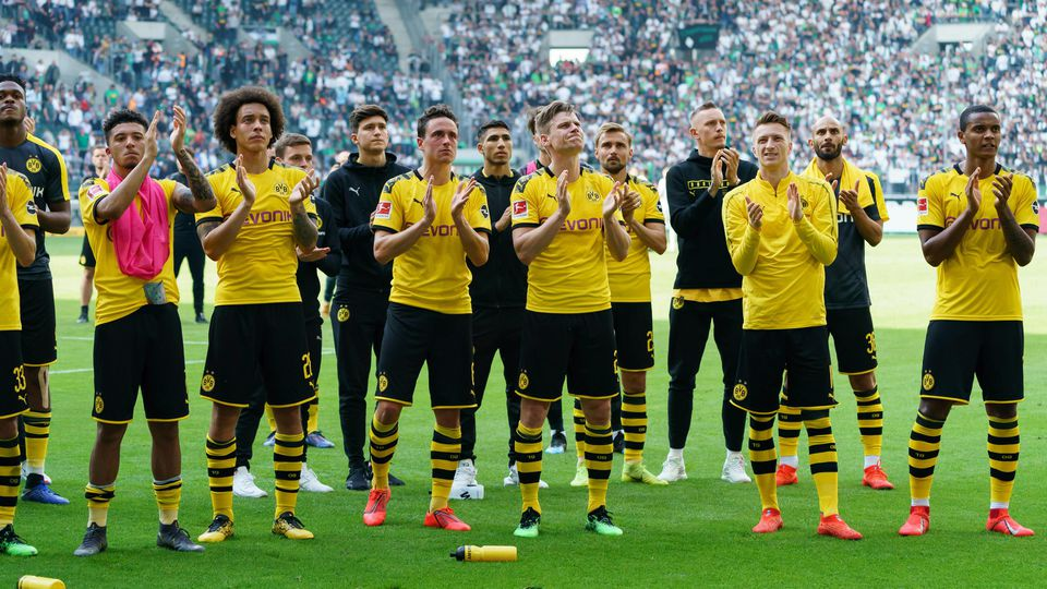 Moenchengladbach Germany 18 05 2019 1 Bundesliga 34 Spieltag Borussia Moenchengladbach BV B