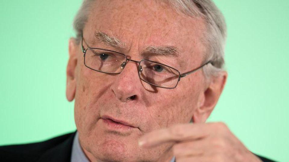 Verteidigt das IOC: Richard Pound. Foto: picture alliance / Sven Hoppe/dpa