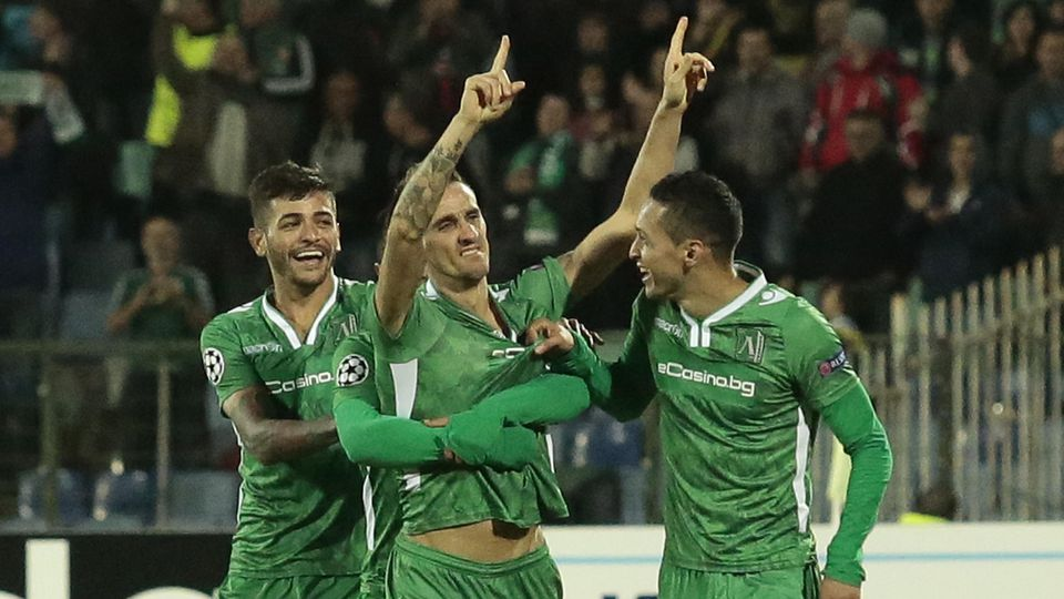Bulgaria Soccer Champions League
