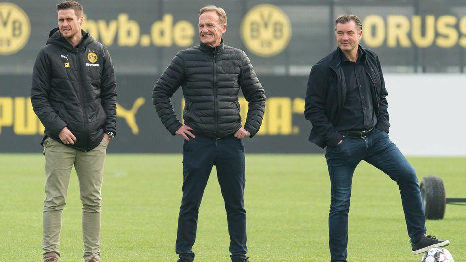 Dortmund, Germany, 22.02.2019, 1. Bundesliga, Training BV Borussia Dortmund, Leiter der Lizenzspielerabteilung Sebastia