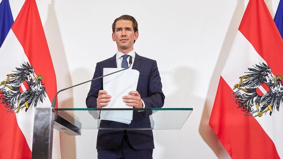 Sebastian Kurz : Befreiungsschlag oder zu viel Risiko?