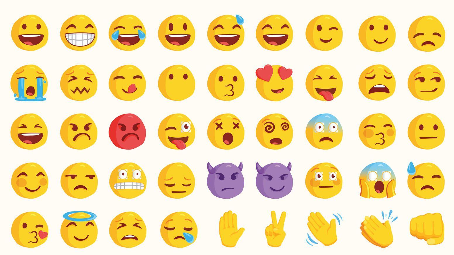 Bedeutung whatsapp smileys 17+ Listen