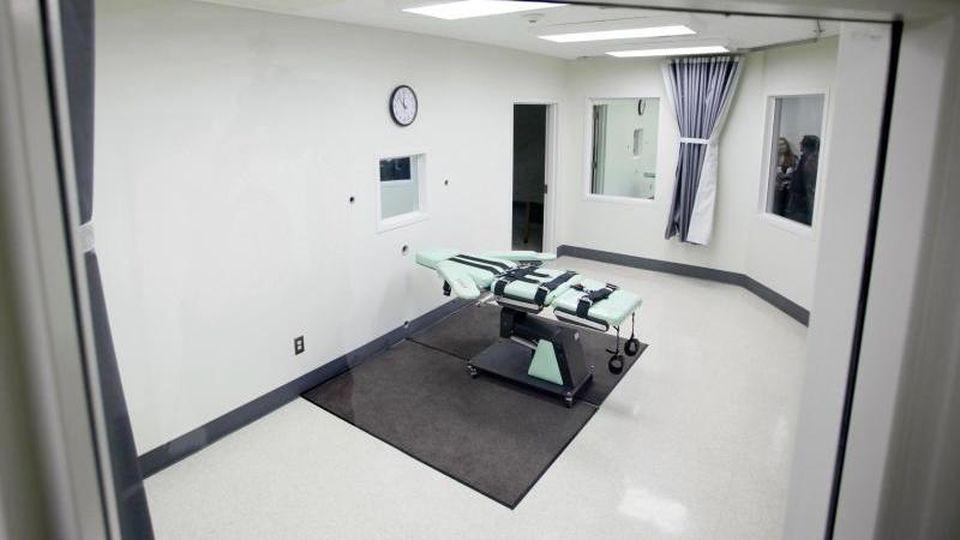 In den USA hatte die Trump-Regierung wieder begonnen, Hinrichtungen auf Bundesebene zu vollziehen. Foto: Eric Risberg/AP/dpa