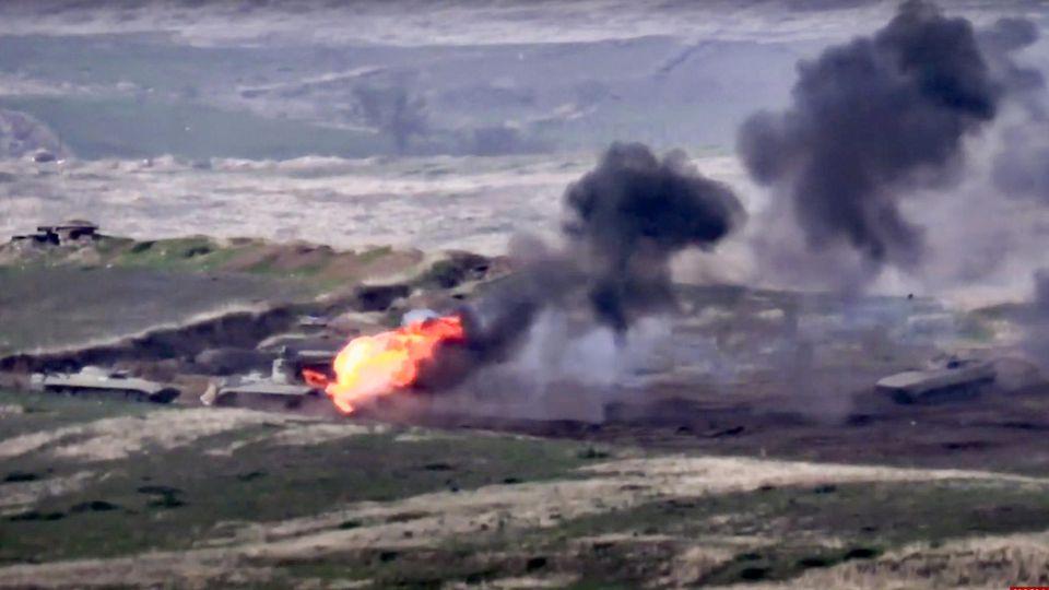 Es droht eine neue gefährliche Eskalation im Streit um die Region Berg-Karabach.