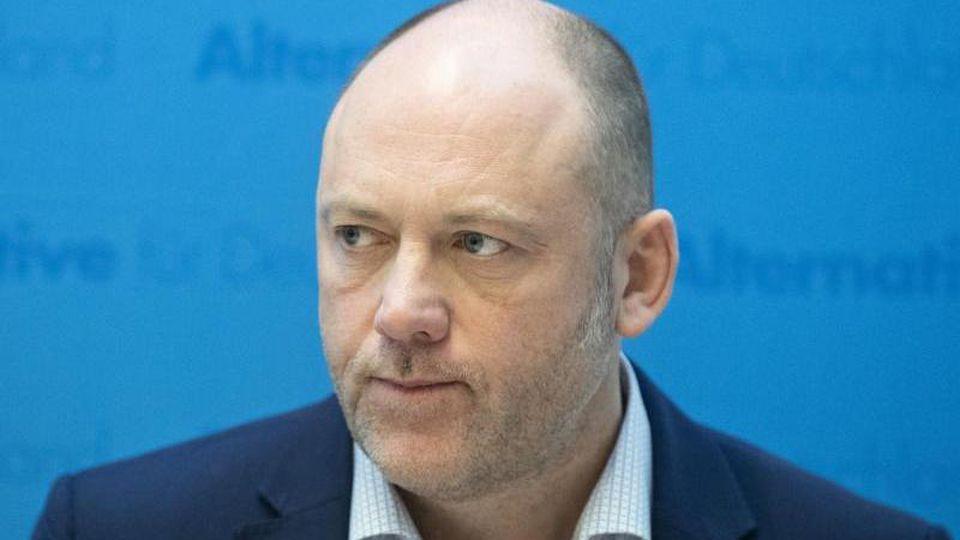 Joachim Paul, AfD-Abgeordneter des rheinland-pfälzischen Landtages. Foto: Boris Roessler/dpa/Archivbild
