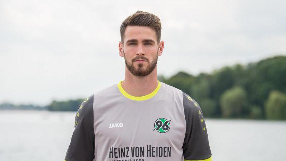 Samuel Sahin-Radlinger von Hannover 96. Foto: Silas Stein/Archiv